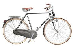 Bicycle of Milanese painter, sculpter, engraver, Piero Fornasetti. 1984. Maker unknown.