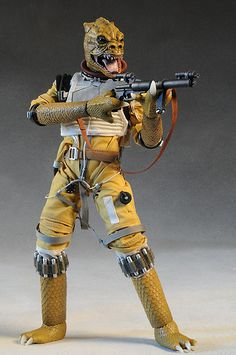 Star Wars Bossk sixth scale action figure by Sideshow Collectibles