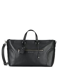 Marc by Marc Jacobs Tony Leather Weekender - Black - Size No Size