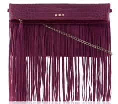 January fringed clutch handbag, £115.00 BIBA at House of Fraser houseoffraser.co.uk