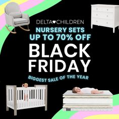 BEST DEAL OF THE YEAR: Up to 70% Sitewide! Nursery Sets Starting at just $169! You Don't Want to Miss This!