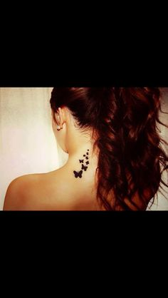 Neck tattoo