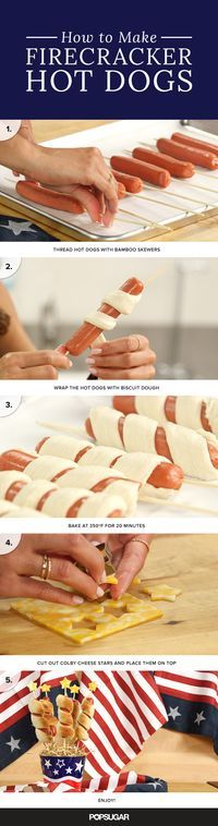 I just reacted to These firecracker hot dogs light up any party. . Check it out!