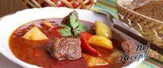 24 nejlepších zimních polévek, které vás zahřejí a zasytí! Pot Roast, Thai Red Curry, Chili, Good Food, Cooking Recipes, Beef, Snacks, Meals, Dishes