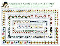 baby cross stitch patterns borders-1