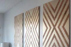 Faça você mesmo um lindo quadro para decorar a sua casa