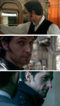Best Use of a Sideburn goes to ...  Richard Armitage