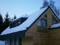 Drevené fasády a terasy z masívu ThermoWood® - Vonkajšie obklady