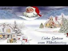 Nikolauskomm in unser Haus bringt Nüsse und MandelnRentier, Lasst uns froh... - YouTube