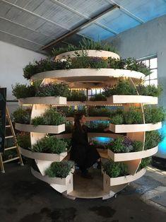 Milão 10 propostas fora do comum para se inspirar (Foto: Adriana Frattini) Garden Planters, Garden Beds, Vertical Pallet Garden, Small Backyard Landscaping, Landscaping Ideas, Backyard Ideas, House Plants Decor, Urban Farming, Garden Planning