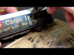 Weathering a Boxcar Part 2 - YouTube