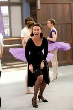Tara Morice! Honestly, Dance Academy could never be the same without such and amazing teacher and principal.