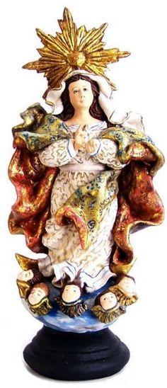 Nossa Senhora da Conceição - Netinho ceramista de Tracunhaém-PE.