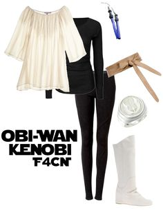 Obi-Wan Kenobi, You are a very difficult man to style. However I think I nailed it!