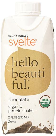 Svelte Organic Protein Shake, Chocolate, 11 Fluid Ounce * Quickly view this special  product, click the image : Weight loss Shakes and Powders