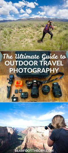 Learn about the photography gear I use as an outdoor travel blogger, plus some of my favorite tips for getting shots during your travels.