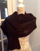 Ravelry: Feather and Fan Scarf pattern by Mary Turley / M Designs