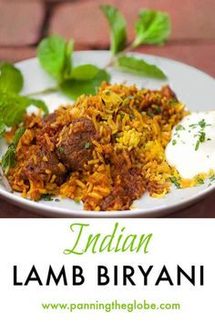 Indian Lamb Biryani is a casserole of tender lamb curry and fragrant saffron rice. Two outstanding dishes combined into one company worthy casserole. Serve with cooling cucumber raita on the side. Lamb Biryani Recipes, Lamb Recipes, Curry Recipes, Cooking Recipes, Cooking Tips, Rice Recipes, Recipies, Turkish Recipes, Indian Food Recipes