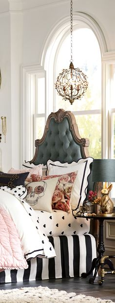 Parisian with a twist | Girls Rooms
