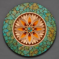 Symmetry, a woodcarving by Mark Doolittle