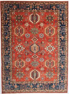 New Afghanistan Hand-Knotted Antique Recreation of a Century Persian Karajeh Design Woven in Afghanistan with Hand-spun wool and vegetable dye's, this beauty features a century Karajeh design from Persia. Woven exclusively for Rug Curator, this carpet. Shag Carpet, Diy Carpet, Modern Carpet, Rugs On Carpet, Carpet Ideas, Wall Carpet, Carpet Trends, Magic Carpet, Art Chinois