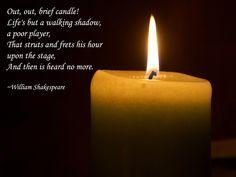 "From ""Macbeth""...W. Shakespeare"