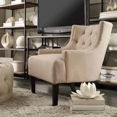 You'll love the Damien Tufted Arm Chair at Joss & Main - With Great Deals on all products and Free Shipping on most stuff, even the big stuff.