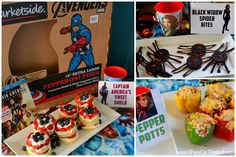 Calling All Avengers! more party foods
