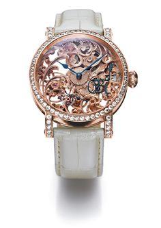 Relógio Pearl Blossom - Grieb & Benzinger - O sonho das mulheres virou realidade!