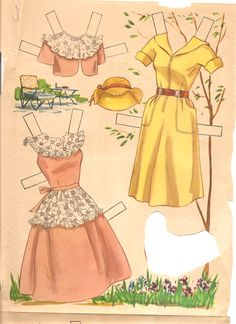 doris day paper dolls | Posted by Miss Missy at 8:44 AM