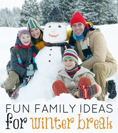 How to Have Fun with your Kids on Christmas Break www.mrsjanuary.com