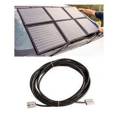 Adventure Kings 120W Portable Solar Blanket + 10m Lead For Solar Panel Extension