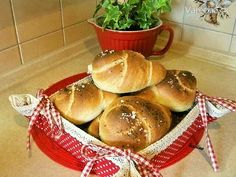 Špaldové pečivo (fotorecept) - Recept Ale, Bakery, Muffin, Pizza, Bread, Breakfast, Food, Basket, Morning Coffee