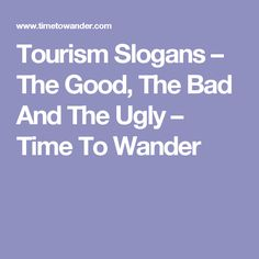 the good and bad of tourism What about sustainable tourism, community tourism and the growth of tourism what about the good points such as money and culture what about the bad.