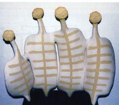 """Halil Yoleri/ Tur/  """"Family"""" 9 Eylul Universty Ceramic Symposium 1997 (Erdinç Bakla archive)"""