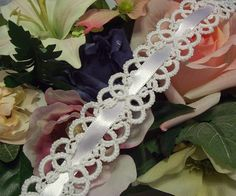 latex free garter lace garter plus size bridal by laceforbrides, $30.00