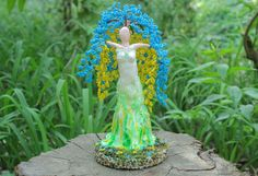 Beaded Tree 'Blossoming Ukraine' ** Click image to review more details.