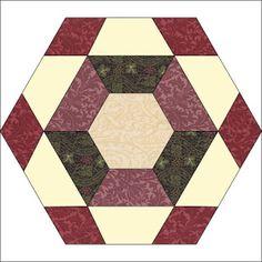 Barbara Brackman's MATERIAL CULTURE: Morris Hexathon 7: Avebury Stones