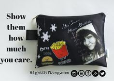 Personalized Pencil Pouch     When you think of pencil pouches, you think of a simple pouch that holds your basic stationeries in. Recently we've seen fun prints of them, like superhero pouches, cartoon related pouches, and so on.  In this day and age, everyone wants to be recognized as individuals and want to stand for something, if not many somethings.   The craze of fandom's and other popular culture is just budding and it's already huge. Now that personalization and customization is so…