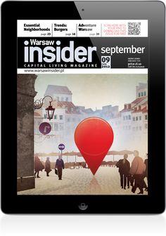 Warsaw Insider to przewodnik po Warszawie, w którym można znaleźć informacje dotyczące wydarzeń kulturalnych i rozrywkowych.  Wydawca: Valkea Media SA, Wersja iOS.