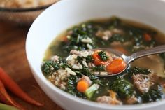One Pot Turkey Sausage Kale & Brown Rice Soup With Uncle Ben's