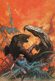 "Frank Frazetta: ""Gulliver of Mars"".                                                                                                                                                                                 More"