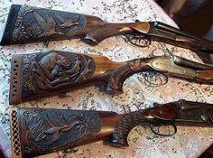 Weapons Guns, Guns And Ammo, Rifle Targets, Gun Art, Custom Guns, Metal Engraving, Art Carved, Hunting Rifles, Wood Tools