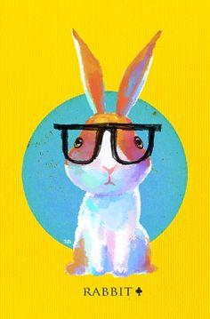 short sight rabbit