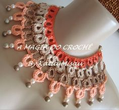 Max colar Anny - crochet necklace