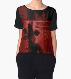 Stranger Things Women's T-Shirt #stranger_things #strangerthingschiffontop #chiffontop #womensfashion #pullverhoodies #buyhoodies #buyhoodies #disappearance #boy #netflix #paranormal #xfiles #x_files_mystery #strange #odd #spooky #supernatural #thriller #sciencefiction #scifi #sci_fi #winona_ryder #scary #monster #cooltshirts #horrorposter #buycoolposters #pop #culture #80s #style #retro