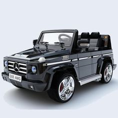 new 2015 licensed mercedes benz g55 wagon amg kids ride on car with rc black