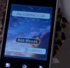 "Supernatural: Crowley description for Dean on his phone ""not Moose"" 9x16 Blade Runners #SPNS9"