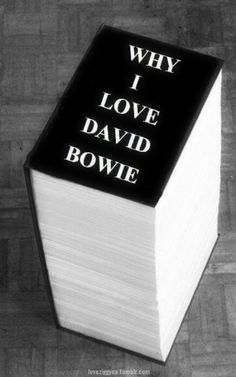 """bowieakajohn: """" loveziggyna: """"That's all … """" I think I could write this and add more to it XD """""""