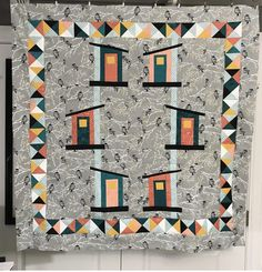 There are less than three hours left in I am happy to share that I was able to finish one last quilt before the ball drops in N. I Am Happy, Quilting, Houses, Blanket, Baby, Im Happy, Homes, Fat Quarters, Blankets